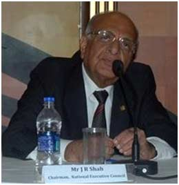 Mr. J. R. Shah, Chairman - National Executive Council